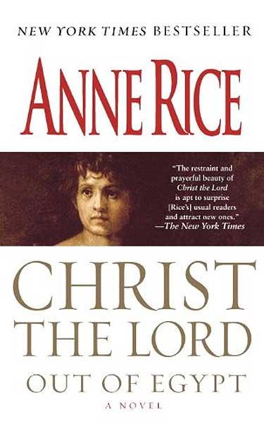 Resultado de imagen para christ the lord anne rice book